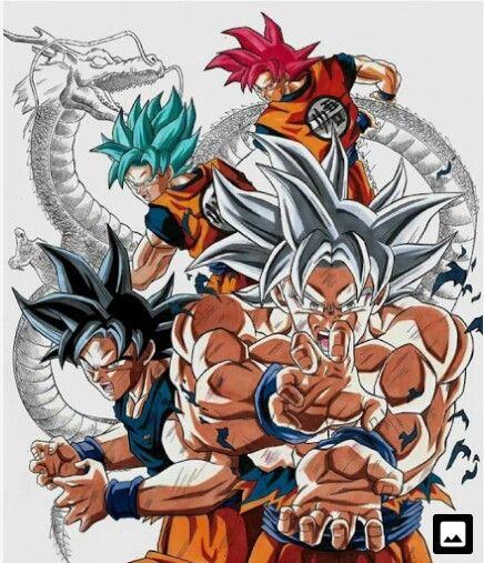 Dragon Ball Z Transformaciones De Broly