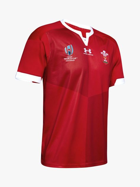 Under Armour Welsh Rugby Supporter Jacket 2019-2020 Red
