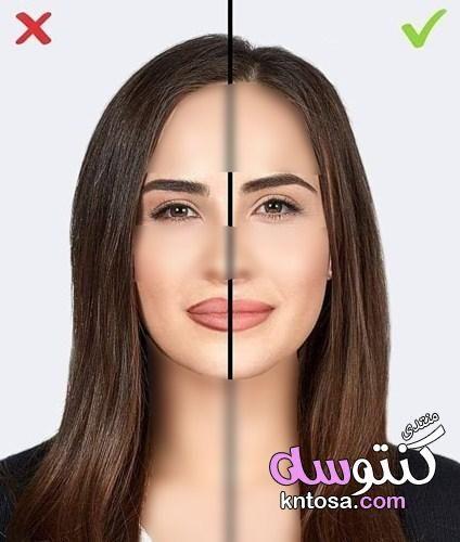 نصائح لميكاج حلو خفيف وموضة طريقة عمل مكياج سهل وبسيط باقل وقت بالصور طريقة عمل مكياج ناعم Kntosa Com 15 19 Older Beauty How To Color Eyebrows Makeup Mistakes