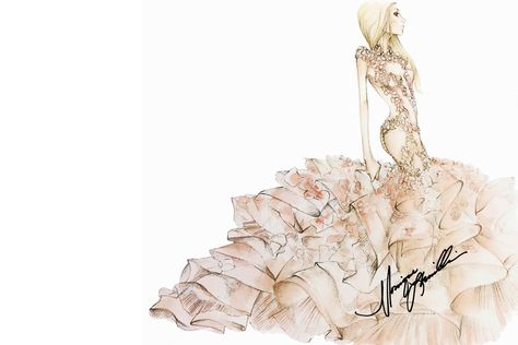 b7689c195f0 ... lady gaga fashion illustration wedding gowns pictures. Brooke Childs  Pinterest Account. Brooke Childs  brookiebug · See the Wedding Dresses Karl  ...