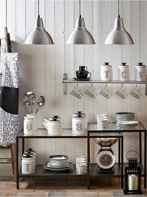 Price & Kensington Soho Tea, Coffee and Sugar Canister Set   very.co.uk