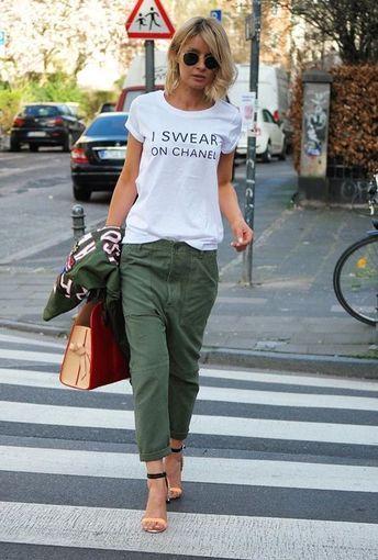 Chanel t shirt , I swear on Chanel print