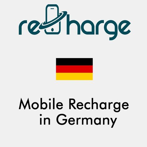Mobile Recharge in Germany. Use our website with easy steps to recharge your mobile in Germany. Mobile Top-up Instant & Worldwide. You may call it mobile recharge, mobile top up, mobile airtime, mobile credit, mobile load or whatever you want #mobilerecharge #rechargemobiles https://recharge-mobiles.com/