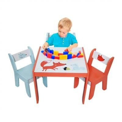 Labebe Wood Table Set For Kids In 2020 Study Table And Chair Games For Toddlers Table And Chairs