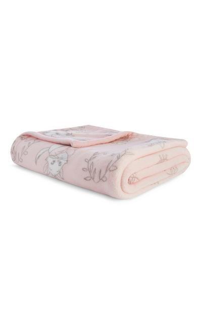 Throw Marie Throw Soft Baby Blankets Pink Night Lights Homeware