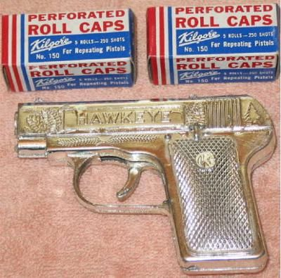 Cap guns were pretty cool.... THESE WERE THE BEST!!!! loved setting the rolls on fire and listening to them pop pop pop