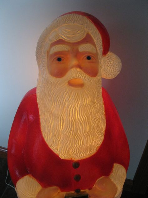 excited to share this item from my etsy shop large santa claus blow mold rare tpi made canada christmas decor 41 high outdoor yard decor lighted - Christmas Decorations Large Santa Claus