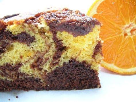 Recette De Gateau Marbre Chocolat Orange Recette Gateau Marbre Chocolat Marbre Au Chocolat Gateau Marbre
