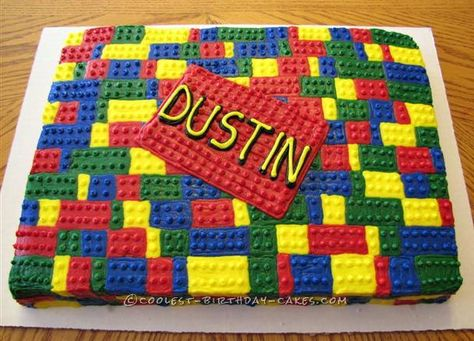 Coolest Buttercream Lego Cake... Coolest Birthday Cake Ideas
