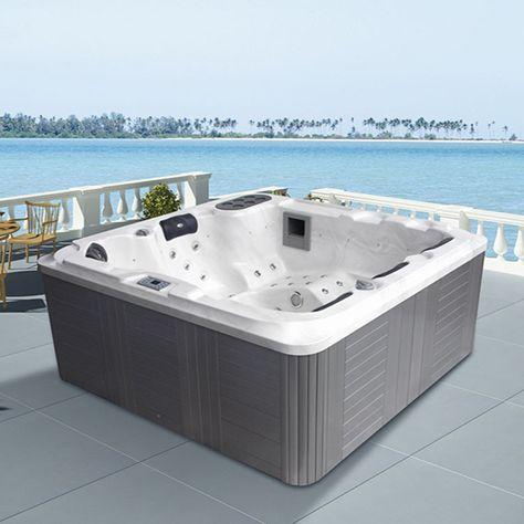 Monalisa M-3322 sexy outdoor massage hot tub China made SPA hot - outdoor whirlpool garten spass bilder