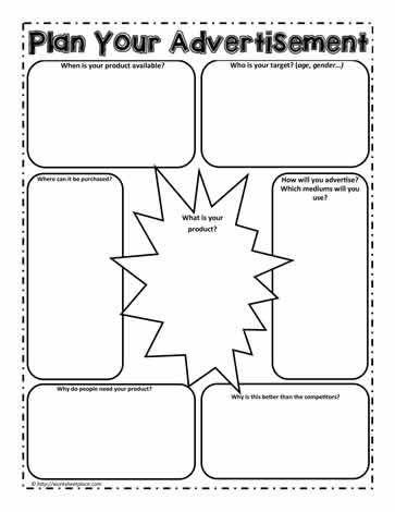Media Literacy Worksheet 7 Worksheets