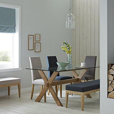Buy John Lewis Gene Rectangular 6-Seater Dining Table Online at johnlewis.com