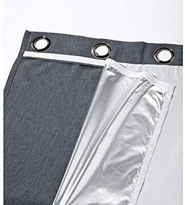Moondream Forro Térmico Invierno Eco Aislación Térmica Frío Tecnología Patentada Oeko Tex Aluminio 135 X 240 A Cortinas Aislantes Invierno Estilo Nórdico