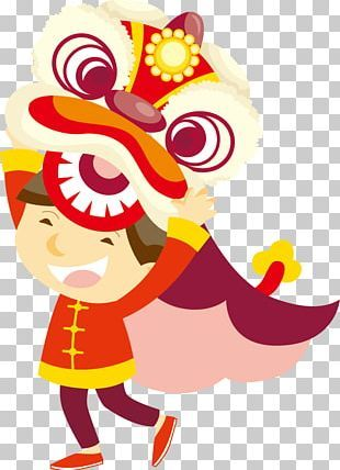 Lion Dance Dragon Dance Chinese New Year Png Clipart Animals Art Carnival Chinese Dragon Chinese Elemen Lion Dance New Year Illustration Chinese New Year
