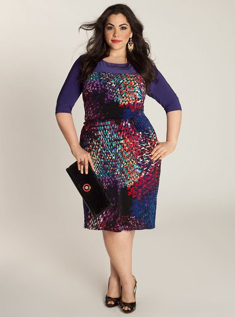 Plus Size Woman Clothing, High Fashion Dresses for the Full Figure Woman