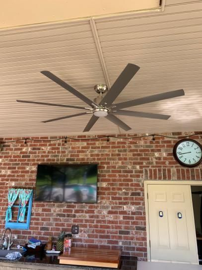 Home Decorators Collection Kensgrove 72 In Led Indoor Outdoor Espresso Bronze Ceiling Fan With Remote Control Yg493od Eb The Home Depot Bronze Ceiling Fan Ceiling Fan With Remote Ceiling Fan