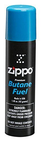 $5 (for Zippo Or Kitchen Torch))  Zippo Butane Fuel, 42gm