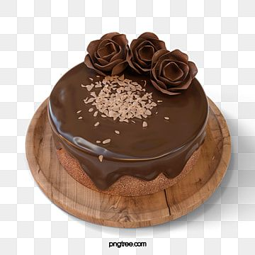 Chocolate Birthday Cake 3d Element Dessert Clipart Chocolate Rose Png Transparent Clipart Image And Psd File For Free Download Tasty Chocolate Cake Birthday Cake Chocolate Creative Birthday Cakes