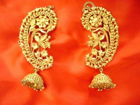 Kaan Earring On Pinterest Ear Cuffs South Asian Wedding