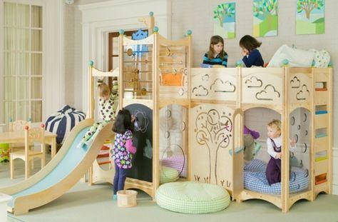 60 Hochbett Mit Rutsche Ideen Fur Madchen Und Jungen Kinder