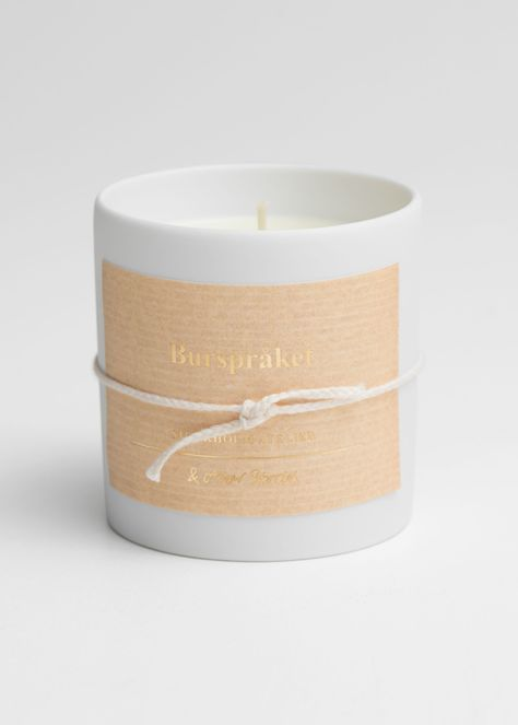 Burspråket Scented Candle in 2020 | Scented candles, Candles ...