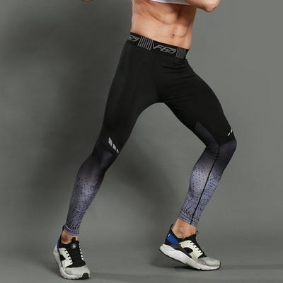Men/'s Compression Pants Training Fitness Yoga Sports Leggings Jogging Sportswear