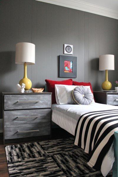 75 Stylish Black Bedroom Ideas And Photos Bedroom Red Yellow Bedroom Gray Bedroom