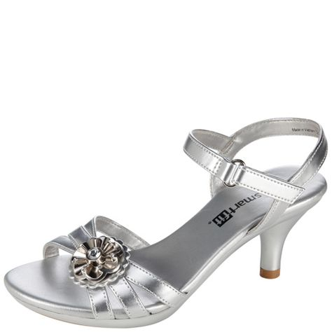 ed6c2a52c9d0 Girls - Smartfit - Girls  Flower Heel Sandal - Payless Shoes