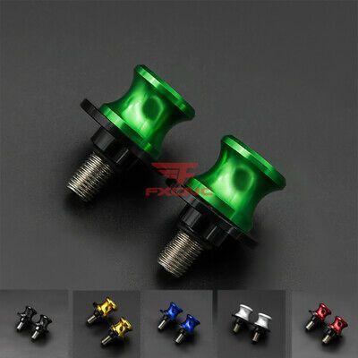 Advertisement Ebay 10mm Swingarm Spools Slider Screws Protect For Ninja 500 Ex500 87 96 Zx6rr 0 Ninja 500r Motorcycle Parts And Accessories Motorcycle Frames
