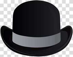 Bowler Hat Fedora Headgear Hats Transparent Background Png Clipart Transparent Background Beard Silhouette Hipster Illustration