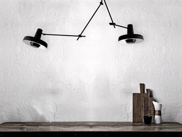 Arigato Loftlampe Dobbelt Sort Loftslampe Loftlamper Loftslamper