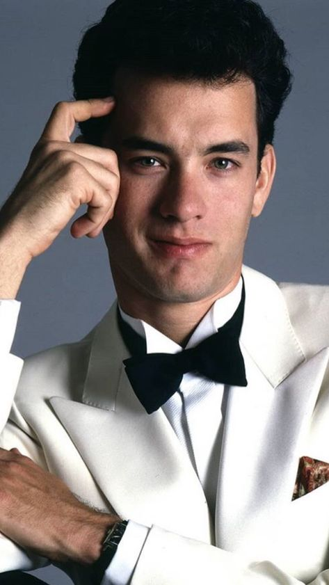 a young tom hanks 😍