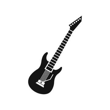 Electric Guitar Icon Simple Style Style Icons Simple Icons Guitar Icons Png And Vector With Transparent Background For Free Download Guitar Tattoo Design Guitar Vector Electric Guitar