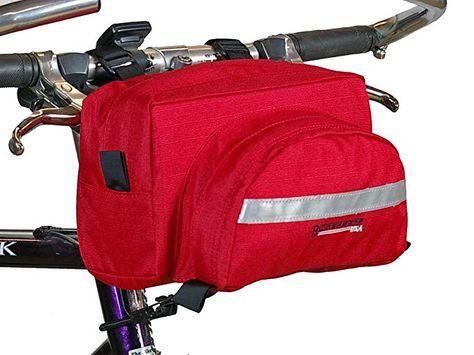 Bushwhacker Durango Black Handlebar Bike Bag Cycling Pack Bicycle Luggage