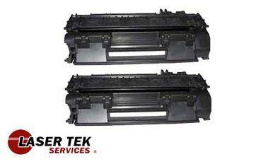 2 Pack Hp 05a Ce505a Remanufactured Toner Cartridge Toner Cartridge Toner Cartridges