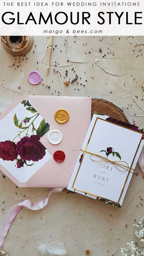 Completely customized handmade wedding invitations. Let our designers create dream wedding invitations especially for you ! -