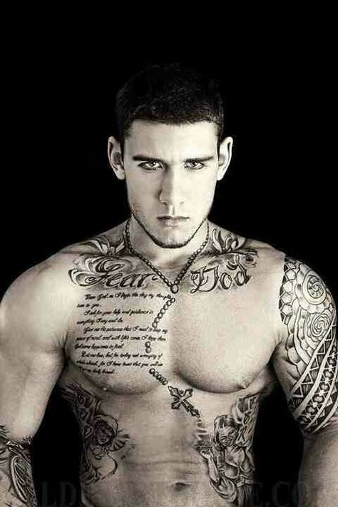 Pin By Ingrid Hintze On Tatoos With Images Full Body Tattoo Cool Chest Tattoos Cool Tattoos For Guys