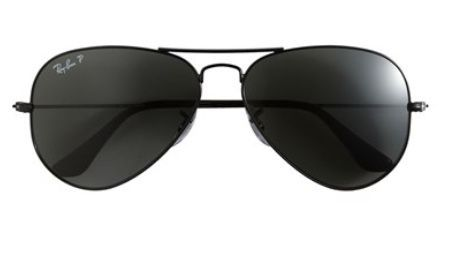 Black Ray-Ban Aviator
