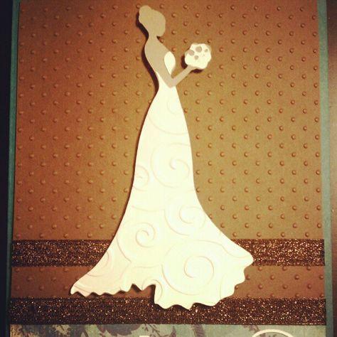 Bridal Shower Invites #adrigriffincrafts #cards #homemade #cricut #cuttlebug - @agpgriffin- #webstagram