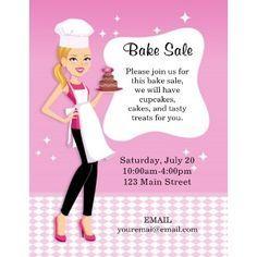 BakeSalePosterPrintable  Baking Ideas    Sale