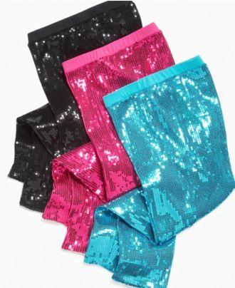 385d6d2ed727f Beautees Kids Pants, Girls Sequin Leggings - Kids Girls 7-16 - Macy's