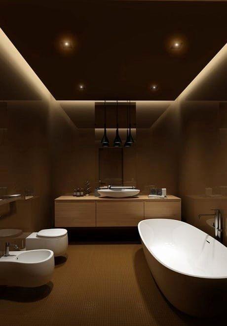 Creative Bathroom Ceiling Ideas New 10 Creative Bathroom Ceiling Design Ideas With In 2020 False Ceiling Design Bathroom Design Luxury Bathroom Ceiling