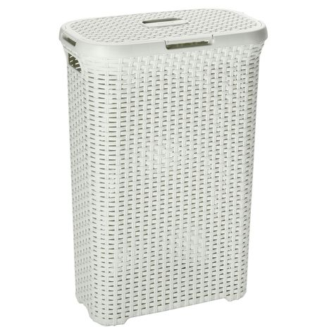 Brabantia Wasbox 30 Liter.Curver Vintage Wasbox Wit 40 L Products In 2019 Wasmand