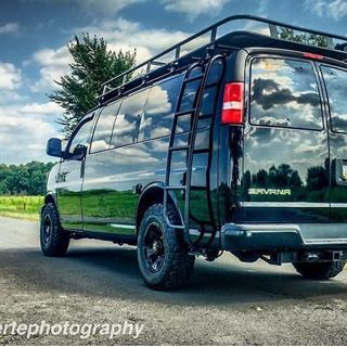 Van Solo Chevy Van Conversion Outfitted With Aluminess Gear