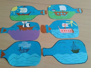 Piraten knutselidee n on pinterest pirate crafts pirate for Craft paint safe for babies