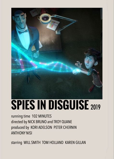 Spies in disguise by Millie