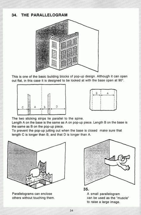 Pop Up A Manual Of Paper Mechanisms Duncan Birmingham Tarquin Books Popup Papercraft Paper Engineering Mo Paper Pop Pop Up Card Templates Pop Up Cards