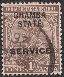 Big Blue 1840-1940: India- Officials and Convention States