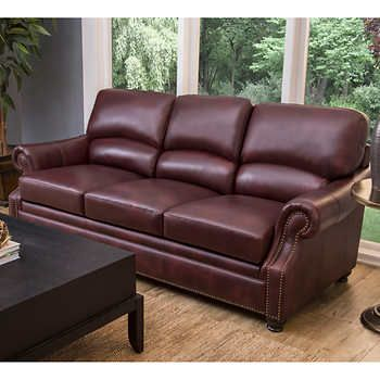 Loredo Top Grain Leather Sofa Top Grain Leather Sofa Leather