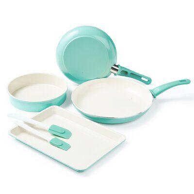 Greenlife Greenlife 6 Piece Non Stick Bakeware Set Bakeware